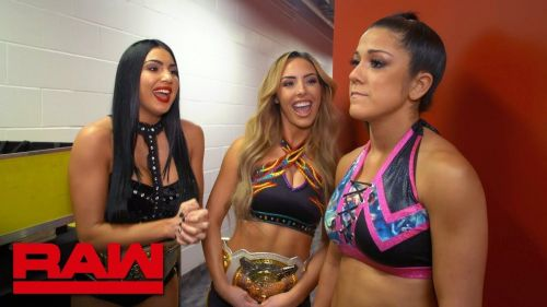 Could some of the Chairman's favorites been behind Bayley and Sasha Banks losing their titles at WrestleMania 35?