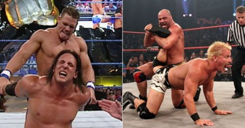 John Cena and Billy Kidman; Kurt Angle and Jeff Jarrett