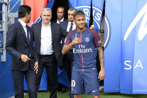 Neymar signed for PSG in a world-record deal