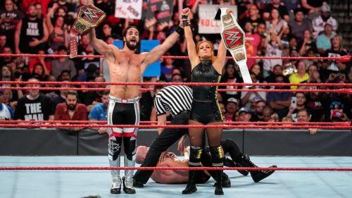 रॉ में जीता था मैच