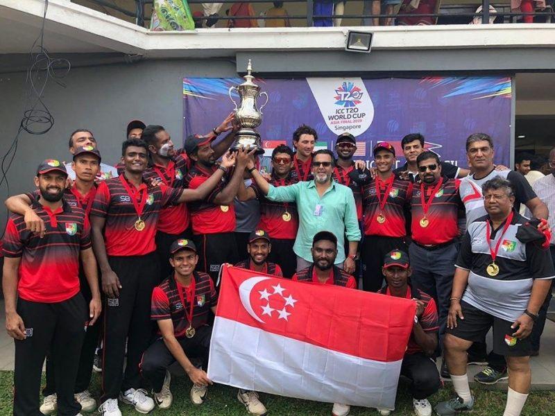 विजेता सिंगापुर टीम