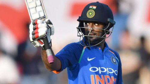 Rayudu played 50 innings for India and averaged 47.05