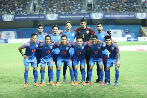 India drew with Syria but finished last in the Intercontinental Cup