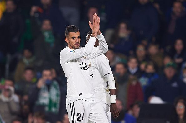 Dani Ceballos signed for Real Madrid in 2017