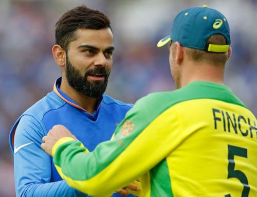 Captains Virat Kohli (India) and Aaron Finch (Australia) were left to rue their knockout losses.