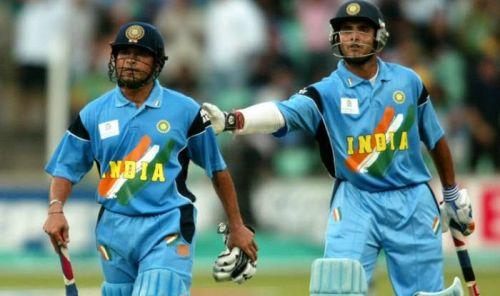 Sachin Tendulkar & Sourav Ganguly
