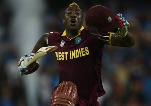 Andre Russell sealed it with a six off Virat Kohli.