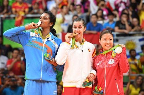 Women's Singles Medal Winners: 2016 Rio Olympics