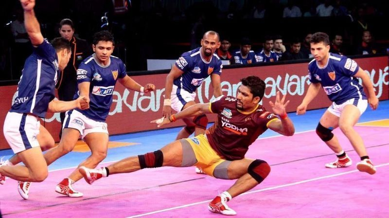 Rishank Devadiga will continue playing for UP Yoddha in PKL 2019
