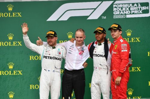 It was an action-packed race with Lewis notching up his sixth British GP win
