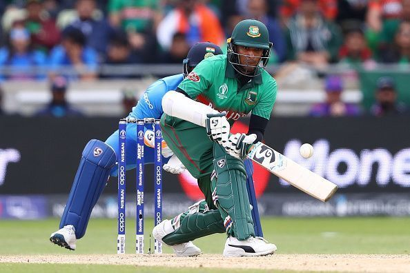 शाकिब अल हसन अफ्रीकी खिलाड़ी रसी वैन डर डुसेन