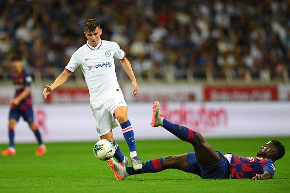 Mason Mount is already enjoying an excellent pre-season with Chelsea