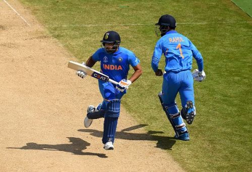 Rohit and Rahul have greatly complimented each other at the top of the order