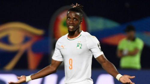 Wilfried Zaha scored in Ivory Coast's last game against Namibia.