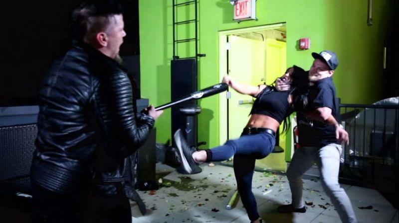 Tessa Blanchard was in savage mode against Sami Callihan tonight