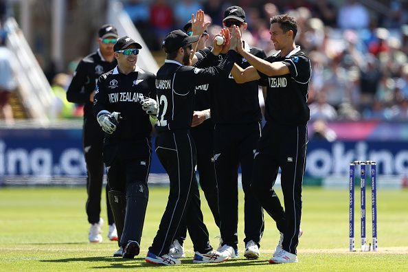 New Zealand reached the semifinals because of their superior net run rate