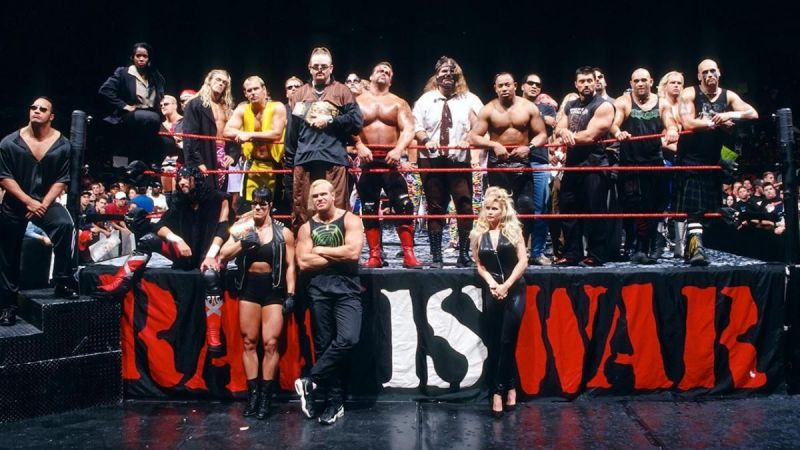 The stars of WWE