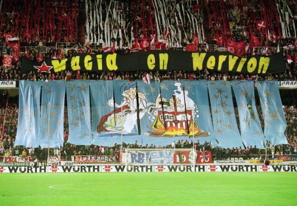 Sevilla fans