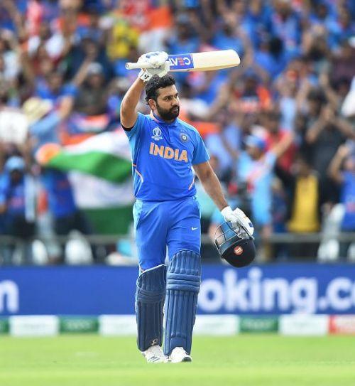 647 runs including 5 centuries, Rohit Sharma, India's MVP.