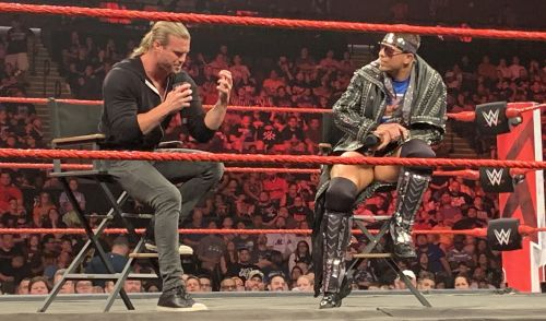 Dolph Ziggler and The Miz on Raw