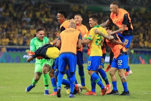 Brazil brushed aside Argentina's challenge