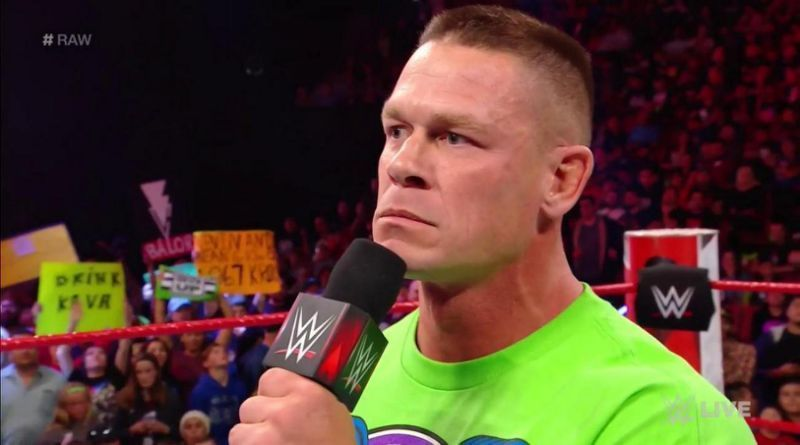 John Cena almost got fired