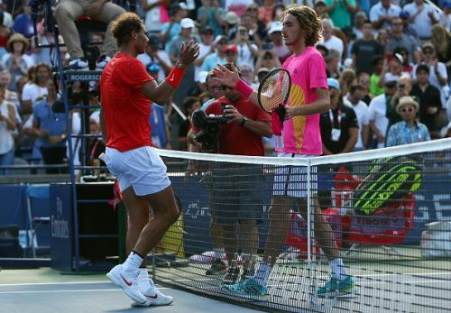 Nadal defeated Tsitsipas to lift the 2018 Rogers Cup