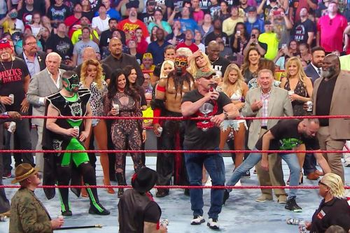 Bringing back several stars from the past helped the WWE out.