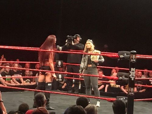 Toni Storm confronts Kay Lee Ray