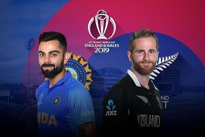 भारत  vs न्यूज़ीलैंड, पहला सेमीफाइनल