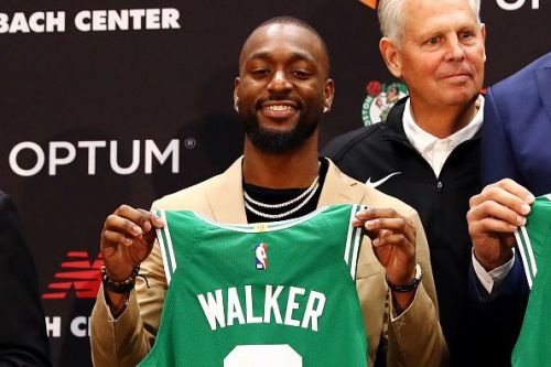 Kemba Walker signed with the Boston Celtics this summer