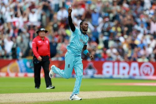 Jofra Archer took 20 wickets at the World Cup.