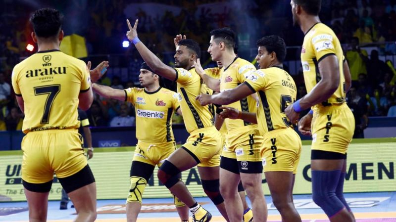 Telugu Titans have found a new hero in Suraj Desai