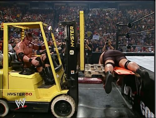 Lesnar's clever ploy
