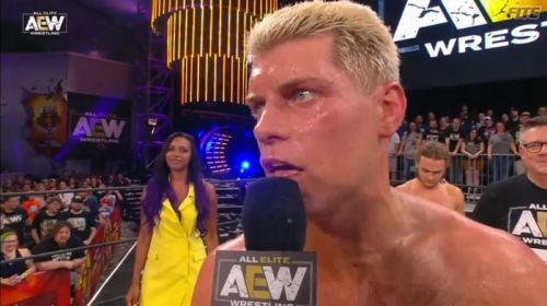 Cody Rhodes says that no one could counteract what AEW can do and achieve.