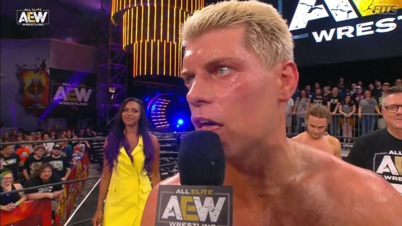Cody ends a major show complaining about WWE showing an Evolve show. It is not the best look.