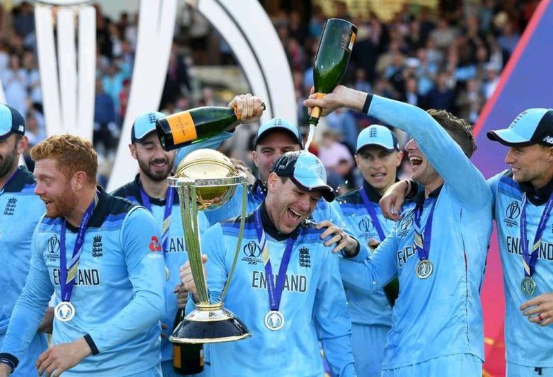 इंग्लैंड ने विश्वकप खिताब जीता
