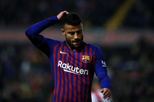 Rafinha was part of the treble-winning side of the 2014-15 season.