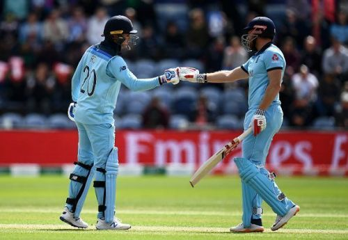 The Roy-Bairstow pair smashed 160 runs for the first wicket against India