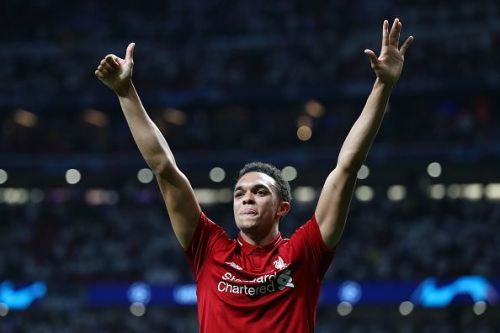 Alexander-Arnold broke the PL record for most assists by a defender with 12 assists
