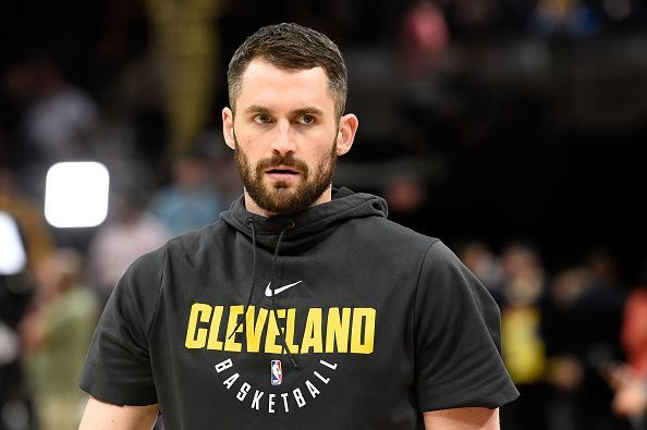 Kevin Love is one of the oldest players on a youthful Cleveland roster