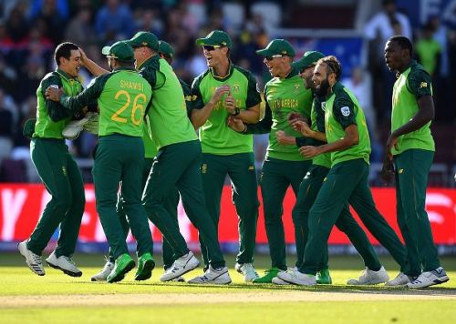 The South African cricket team