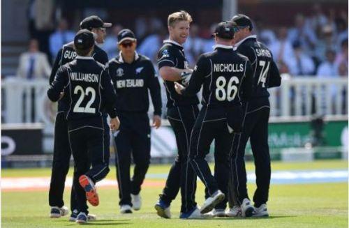 England vs New Zealand - head to head matches