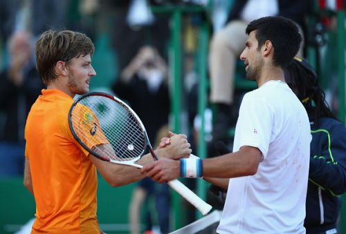 David Goffin and Novak Djokovic will be squaring off in the quarter-finals of the tournament