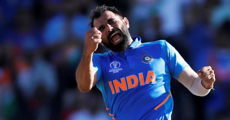 Mohammed Shami- ICC Cricket World Cup 2019. Source- Scroll.in