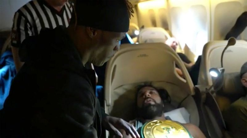 Jinder Mahal loses the title
