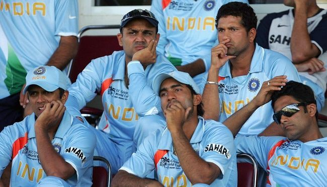 2007 WC Dinesh Karthik benched in all 3 matches
