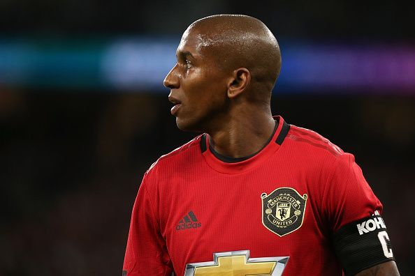 Ashley Young seems to be