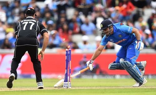 Dhoni's run-out
