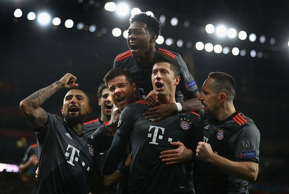 Arsenal FC v FC Bayern Muenchen - UEFA Champions League Round of 16: Second Leg